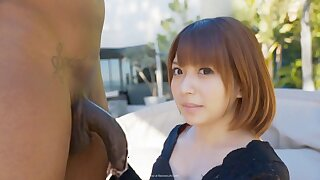 Rika Mari nipponese naughty teen interracial outdoor sex motion picture